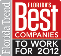Floridas Best Companies to Work For 2012