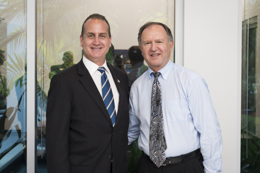 Congressman Diaz-Balart and Reinhold