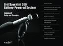 DrillSaw Mini 300™ Battery-Powered System