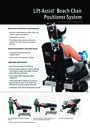 Lift-Assist Beach Chair Positioner System