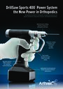 DrillSaw Sports 400™ Power System - the New Power in Orthopedics