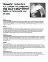 ProWick™ Shoulder Postoperative Dressing and Cold Therapy System Instructions for Use