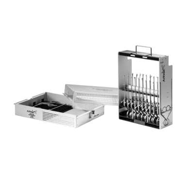 Knee arthroscopic instrument sets 0 large